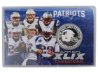 New England Patriots Super Bowl Champs 2015 Highland Mint Coin Card Collectibles