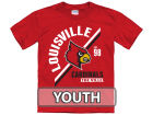 Louisville Cardinals New Agenda NCAA Youth Over Arc T-Shirt T-Shirts