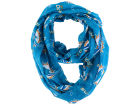 Miami Dolphins Forever Collectibles All Over Logo Infinity Wrap Scarf Apparel & Accessories