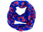 Chicago Cubs Forever Collectibles All Over Logo Infinity Wrap Scarf Apparel & Accessories