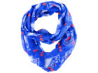 New York Rangers Forever Collectibles All Over Logo Infinity Wrap Scarf Apparel & Accessories