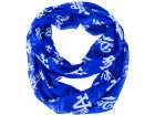 Los Angeles Dodgers Forever Collectibles All Over Logo Infinity Wrap Scarf Apparel & Accessories