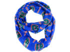 Florida Gators Forever Collectibles All Over Logo Infinity Wrap Scarf Apparel & Accessories