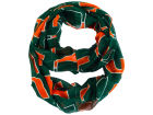 Miami Hurricanes Forever Collectibles All Over Logo Infinity Wrap Scarf Apparel & Accessories