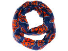 Chicago Bears Forever Collectibles All Over Logo Infinity Wrap Scarf Apparel & Accessories