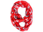 Ohio State Buckeyes Forever Collectibles All Over Logo Infinity Wrap Scarf Apparel & Accessories