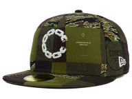 Crooks & Castles Checkered Camo 59FIFTY Cap Fitted Hats
