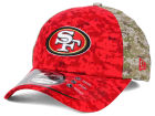 San Francisco 49ers New Era NFL 2015 Salute to Service 39THIRTY Cap Stretch Fitted Hats