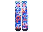 Chicago Cubs For Bare Feet Flashback Socks Apparel & Accessories