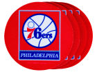 Philadelphia 76ers 4pk Neoprene Coaster Set Kitchen & Bar