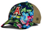 Arizona Wildcats Top of the World NCAA Shore Stretch Cap Stretch Fitted Hats