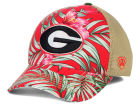 Georgia Bulldogs Top of the World NCAA Shore Stretch Cap Stretch Fitted Hats