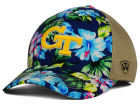 Georgia Tech Yellow Jackets Top of the World NCAA Shore Stretch Cap Stretch Fitted Hats