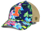 Illinois Fighting Illini Top of the World NCAA Shore Stretch Cap Stretch Fitted Hats