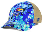 Kansas Jayhawks Top of the World NCAA Shore Stretch Cap Stretch Fitted Hats