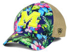 Michigan Wolverines Top of the World NCAA Shore Stretch Cap Stretch Fitted Hats