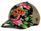 Oklahoma State Cowboys Top of the World NCAA Shore Stretch Cap Stretch Fitted Hats