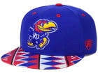 Kansas Jayhawks Top of the World NCAA Tribe Snapback Cap Adjustable Hats