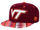 Virginia Tech Hokies Top of the World NCAA Tribe Snapback Cap Adjustable Hats