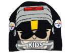 Pittsburgh Steelers Outerstuff NFL Youth Rush Zone Mascot Knit Hats