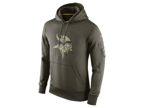 Minnesota Vikings Nike Olive Nike Nfl Men S Salute To