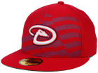 Arizona Diamondbacks New Era MLB 2015 July 4th Stars & Stripes 59FIFTY Cap Fitted Hats