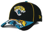 Jacksonville Jaguars New Era NFL Hex Charge 39THIRTY Cap Stretch Fitted Hats