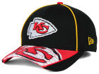 Kansas City Chiefs New Era NFL Hex Charge 39THIRTY Cap Stretch Fitted Hats