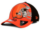 Cleveland Browns New Era NFL Logo Blimp 39THIRTY Cap Stretch Fitted Hats