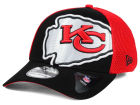 Kansas City Chiefs New Era NFL Logo Blimp 39THIRTY Cap Stretch Fitted Hats