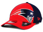 New England Patriots New Era NFL Logo Blimp 39THIRTY Cap Stretch Fitted Hats
