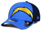 San Diego Chargers New Era NFL Logo Blimp 39THIRTY Cap Stretch Fitted Hats