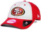 San Francisco 49ers New Era NFL Women's Team Glimmer 9TWENTY Cap Adjustable Hats