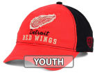 Detroit Red Wings Old Time Hockey NHL Youth Rica Adjustable Hat Hats