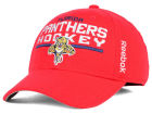 Florida Panthers Reebok NHL 2015 Authentic Locker Room Flex Cap Stretch Fitted Hats