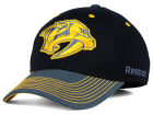 Nashville Predators Reebok NHL 2015 Tonal Logo Flex Cap Stretch Fitted Hats