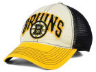 Boston Bruins Reebok NHL 2015 Felt Mesh Slouch Cap Stretch Fitted Hats