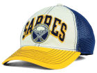 Buffalo Sabres Reebok NHL 2015 Felt Mesh Slouch Cap Stretch Fitted Hats