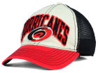 Carolina Hurricanes Reebok NHL 2015 Felt Mesh Slouch Cap Stretch Fitted Hats