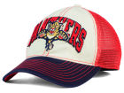 Florida Panthers Reebok NHL 2015 Felt Mesh Slouch Cap Stretch Fitted Hats