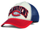 Montreal Canadiens Reebok NHL 2015 Felt Mesh Slouch Cap Stretch Fitted Hats