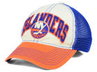 New York Islanders Reebok NHL 2015 Felt Mesh Slouch Cap Stretch Fitted Hats