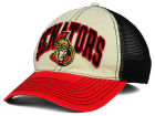 Ottawa Senators Reebok NHL 2015 Felt Mesh Slouch Cap Stretch Fitted Hats