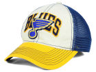 St. Louis Blues Reebok NHL 2015 Felt Mesh Slouch Cap Stretch Fitted Hats