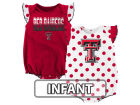 Texas Tech Red Raiders Outerstuff NCAA Infant Girls Polka Dot Fan Set Outfits