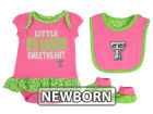 Texas Tech Red Raiders Outerstuff NCAA Newborn Girls Pink Little Sweet Set Outfits