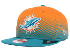 Miami Dolphins New Era NFL Line Fade 9FIFTY Snapback Cap Adjustable Hats