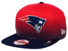 New England Patriots New Era NFL Line Fade 9FIFTY Snapback Cap Adjustable Hats