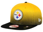 Pittsburgh Steelers New Era NFL Line Fade 9FIFTY Snapback Cap Adjustable Hats