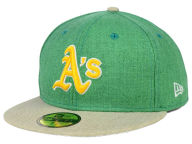 New Era MLB Heather Action 59FIFTY Cap Fitted Hats